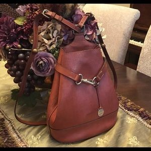 DOONEY & BOURKE vtg Alto brown leather backpack